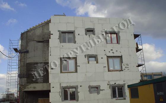 Отсутствиепровесов плоскости фасада