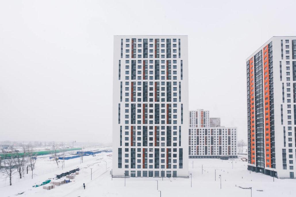Фасад ЖК «Одинцово-1»