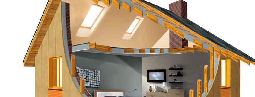 Теплоизоляция домов и сооружений